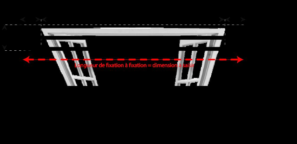 tringle rideaux coud e double sur mesure en fer forg. Black Bedroom Furniture Sets. Home Design Ideas